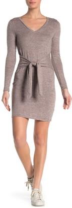 Tie Front Hacci Dress