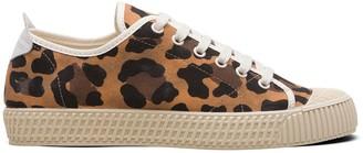 Car Shoe Leopard Print Sneakers