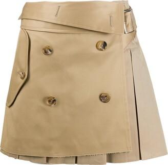 Junya Watanabe Wrap Front Mini Skirt