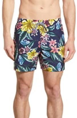 Ted Baker Marang Tropical Print Swim Trunks