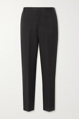 Vince Cotton-blend Tapered Pants - Black