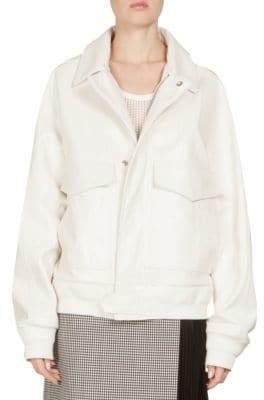 Givenchy Oversized Leather Jacket