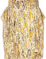 Twenty8Twelve Savanne Multicolor Printed Greenway Silk Skirt