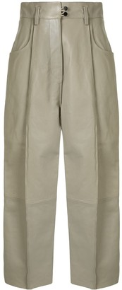 Petar Petrov Harris high-rise pleated trousers