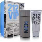 Carolina Herrera 212 Men by 2 Piece Set Includes: 3.4 oz Eau de Toilette Spray + 3.4 oz After Shave Gel