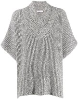 Fabiana Filippi Oversized Ribbed Jumper