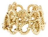 Rachel Zoe Rope Link Cuff Bracelet