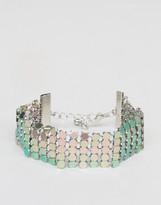 Asos Rainbow Chainmail Bracelet