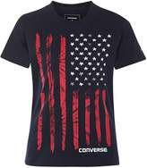 Converse Boys 4-7 Tie-Dyed Flag Graphic Tee