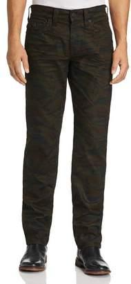 True Religion Geno Straight Fit Jeans in Cosmic Camo