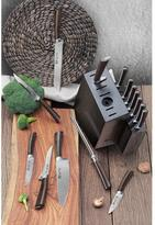 Cangshan A Series 16-Piece Swedish 12C27 Steel Forged Knife Block Set