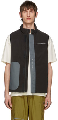 Oakley by Samuel Ross Brown Puffer Vest