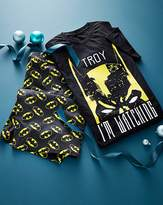 Batman Personalised Shortie Pyjamas