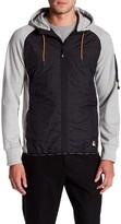 Lindbergh Quilted Hooded Zip Jacket