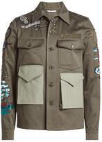 Valentino Sailor Motif Cotton Jacket