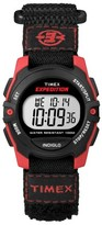 Timex Expedition® Digital Watch with Fast Wrap® Nylon Strap - Red/Black T499569J