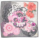 Valentino Silk Floral Printed Scarf w/ Tags