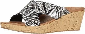Skechers Womens Slide Wedge Sandal