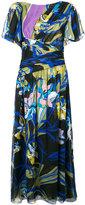 Emilio Pucci floral print midi dress