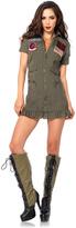 Leg Avenue Top Gun Flight Dress Dress-Up Set - Women