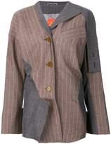 Vivienne Westwood asymmetric pinstripe blazer