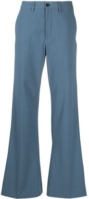Closed Flared Tailored Trousers