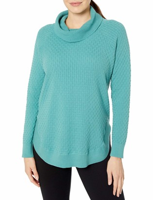 Chaus Women's Long Sleeve Cowl Neck Sweater