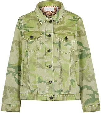 One Teaspoon Oneteaspoon Bandits Camouflage-print Denim Jacket