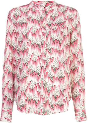 Isabel Marant printed button-up shirt