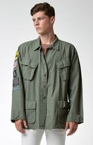 Civil Patched Military Jacket