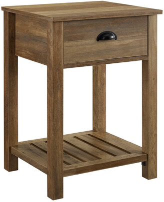Hewson 18In Country Single Drawer Side Table