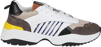 DSQUARED2 Multicolor Leather D24 Sneakers