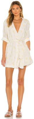 Tularosa Whitaker Button Front Dress