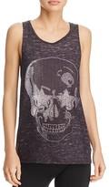Terez Printed Skull Tank
