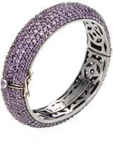 Rina Limor Fine Jewelry Women's Silver & Amethyst Bangle Bracelet