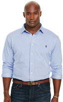 Big & Tall Polo Ralph Lauren Herringbone Knit Dress Shirt