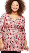 Motherhood Maternity Jessica Simpson Plus Size Babydoll Maternity Tunic