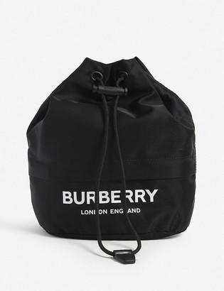 Burberry Phoebe mini nylon bucket bag