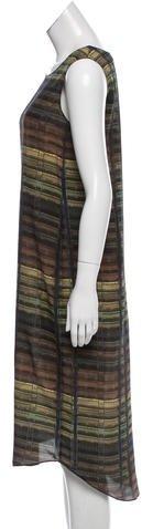 Theyskens' Theory Printed Silk Dress