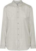 MiH Jeans Flight Printed Crepe Shirt