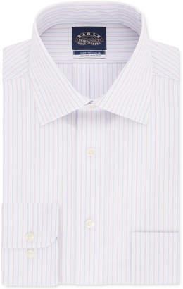 Eagle Men Slim-Fit Tek Stripe Dress Shirt