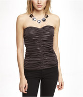Express Strapless Ruched Top