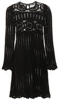 Etoile Isabel Marant Isabel Marant, Étoile Hariett Linen And Cotton Crochet-knit Dress