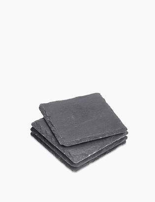 Marks and Spencer Set of 4 Square Slate Coasters
