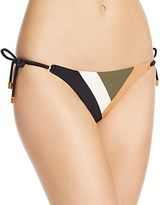 Vix Military Patch Side Tie Bikini Bottom