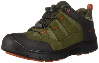 Keen Unisex-Adult HIKEPORT WP Hiking Boot martini olive/pureed pumpkin 5 M US