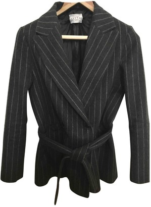 Sandro Grey Wool Jacket for Women