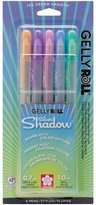Sakura Gelly Roll Silver Shadow Bold Point Pens 5/Pkg
