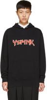 Y's Black YSPINK Hoodie