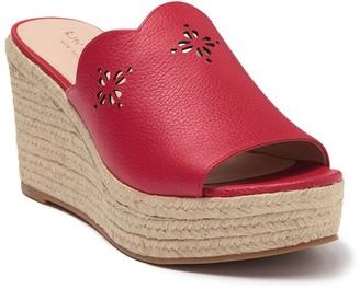 Kate Spade tia Espadrille wedge sandal